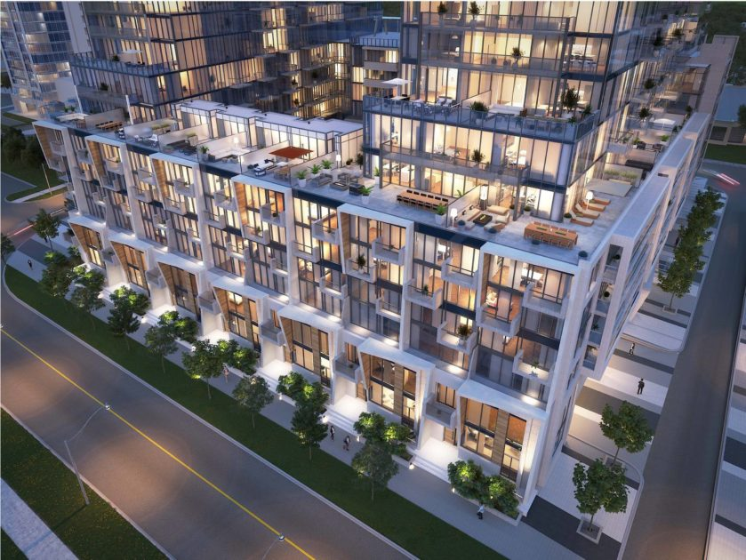 M2M Spaces Townhome Terraces