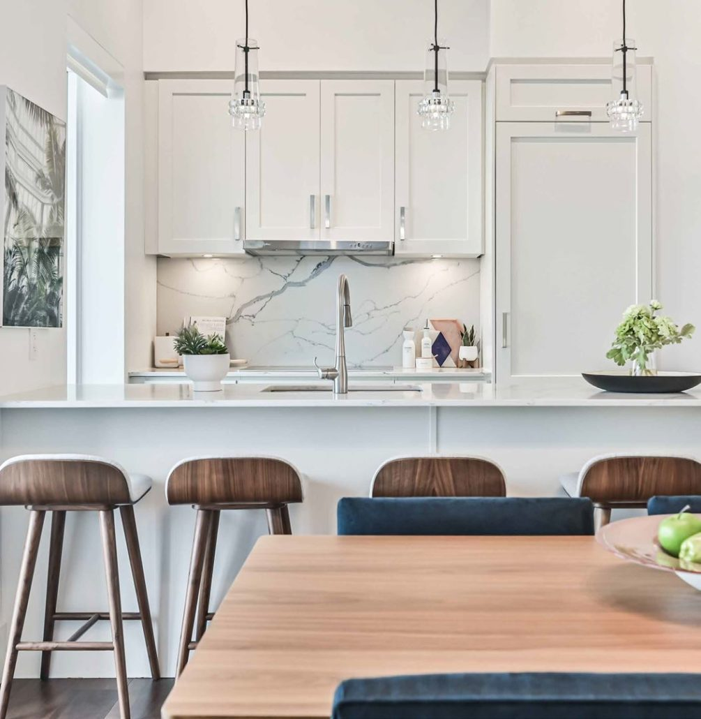 M2M Spaces Condos Dining and Kitchen