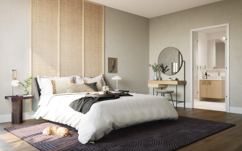 The Tailor Queensway Residences Bedroom