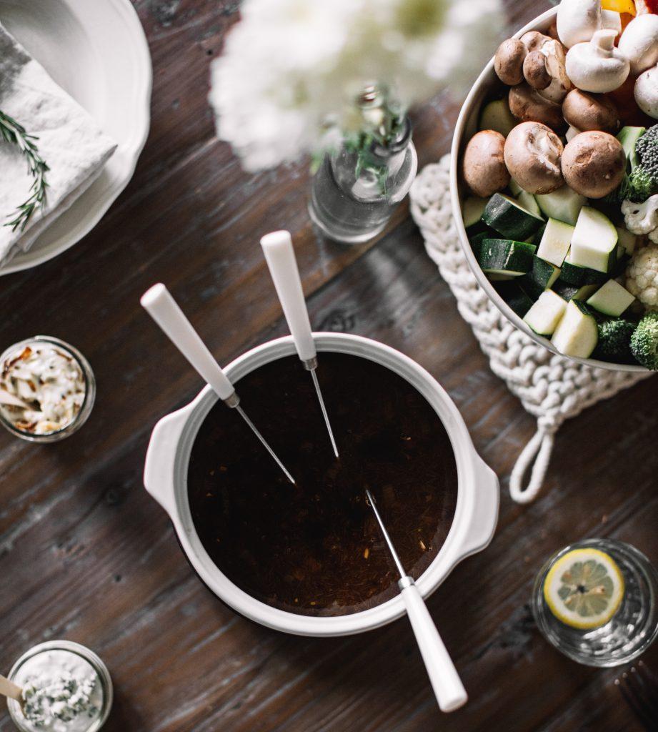 Idée Repas Pour Deux Amoureux tout sur la fondue chinoise - trois fois par jour
