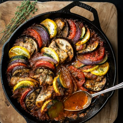 Ratatouille au poulet « one-pot »