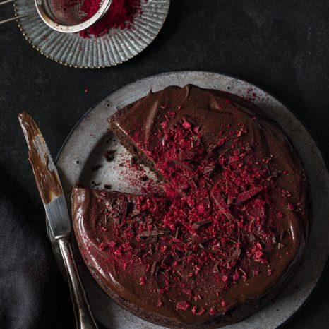 Gâteau choco-betteraves