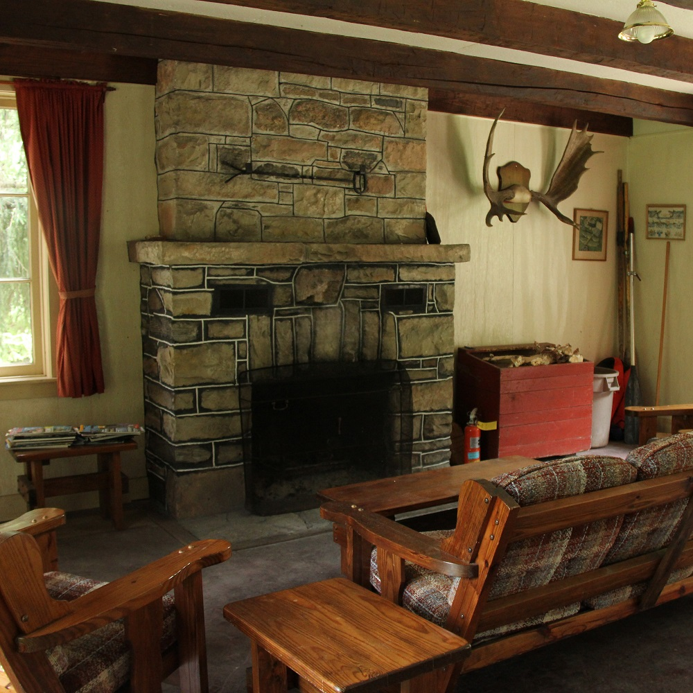 cabin at Glen Haffy Conservation Area
