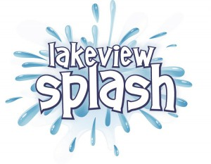 Albion Hills Lakeview Splash swimming logo
