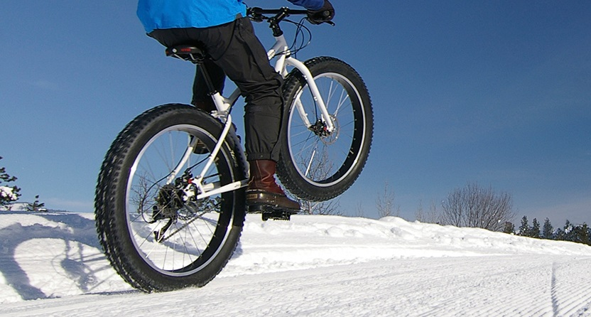 Fat biking at Albion Hills Conservation Park