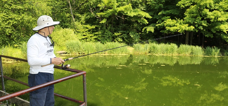 Fishing at TRCA parks