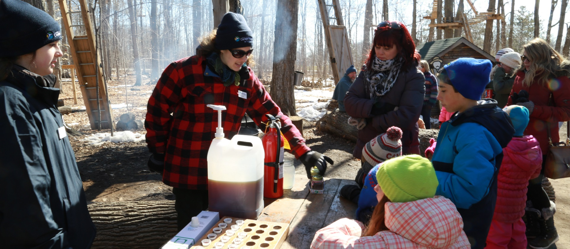 Sugarbush Maple Syrup Festival at Bruce's Mill Conservation Area