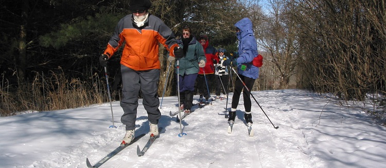 TRCA cross-country skiing at Albion Hills