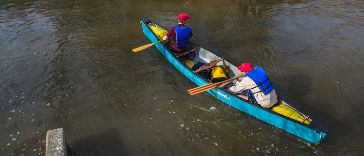TRCA canoeing - Paddle the Don