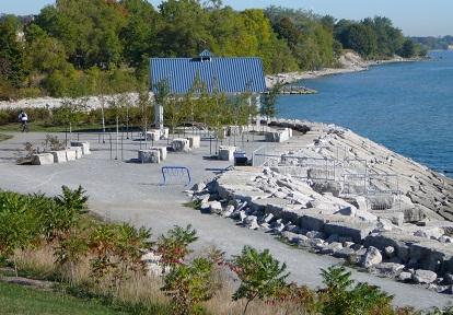 Port Union waterfront