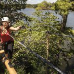 Treetop trekking at Heart Lake Conservation Park
