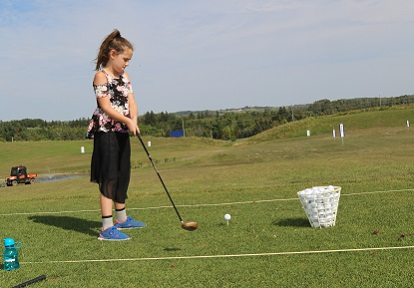 Summer Golf and Outdoor Recreation Camp