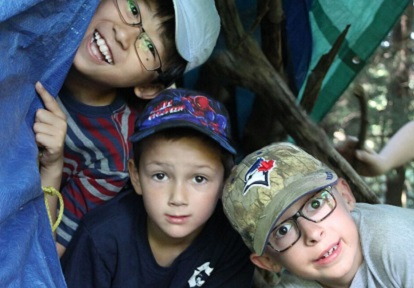young boys at a TRCA camp