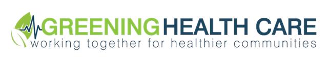 Greening Health Care logo