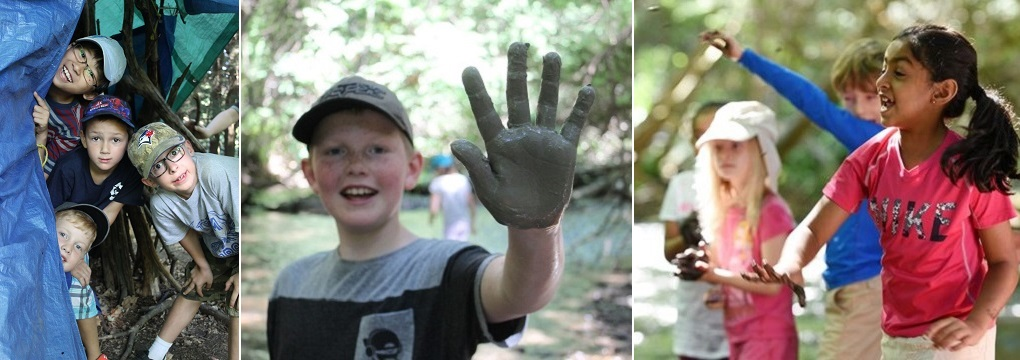 kids enjoy outdoor nature programs