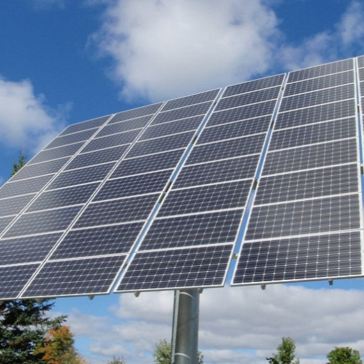 solar panel at Kortright Centre for Conservation