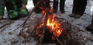 Winter Survival Skill Building @ Claremont Nature Centre