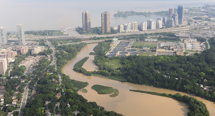 TRCA climate change flood