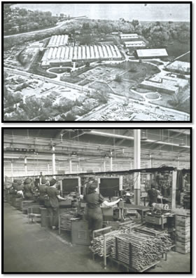 Historical photos of plant