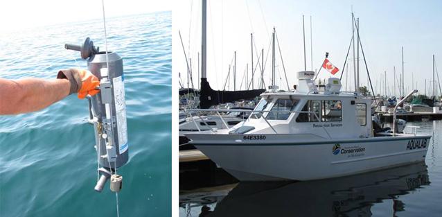 Lake Ontario Waterfront nearshore monitoring sampling design