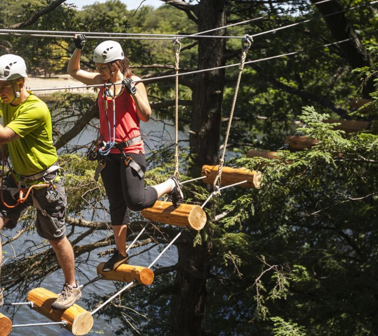 Treetop Trekking at Heart Lake Conservation Area