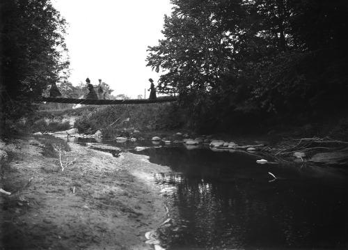 Crossing Highland Creek