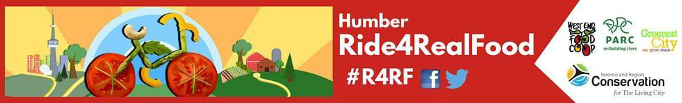 Humber Ride4RealFood header