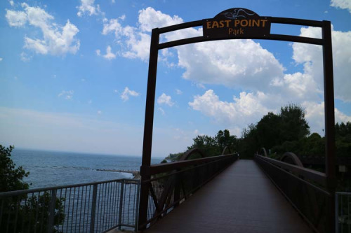 East Point Park gateway