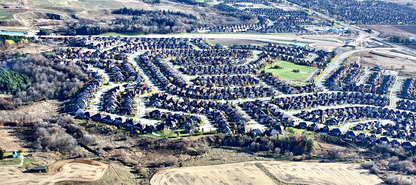 aerial view of Caledon