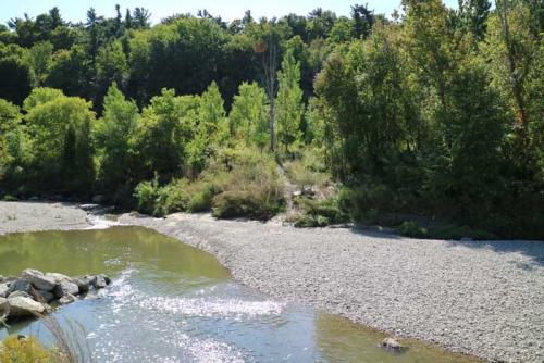 Highland Creek bendway weirs