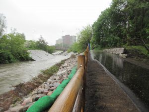 West Deane Park Bank Stabilization Project Site 1 Complete