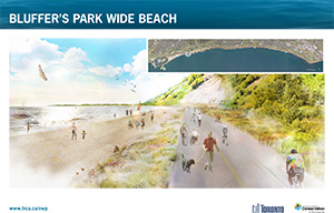 Scarborough Waterfront Project Public Information Centre rendering 1