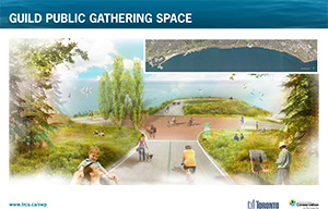 Scarborough Waterfront Project Public Information Centre rendering 2