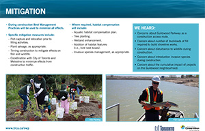 Scarborough Waterfront Project Public Information Centre display panel 18