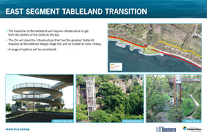 Scarborough Waterfront Project Public Information Centre display panel 15