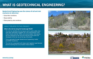 Scarborough Waterfront Project Public Information Centre display panel 9