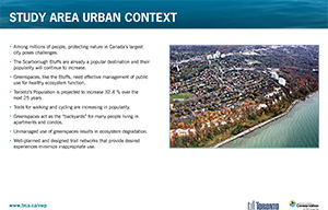 Scarborough Waterfront Project Public Information Centre display panel 6