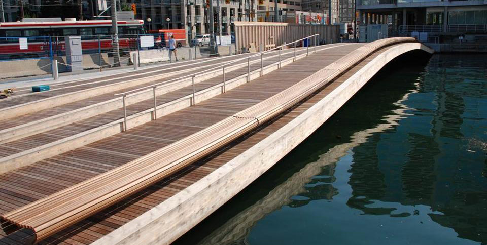 view of the Spadina WaveDeck