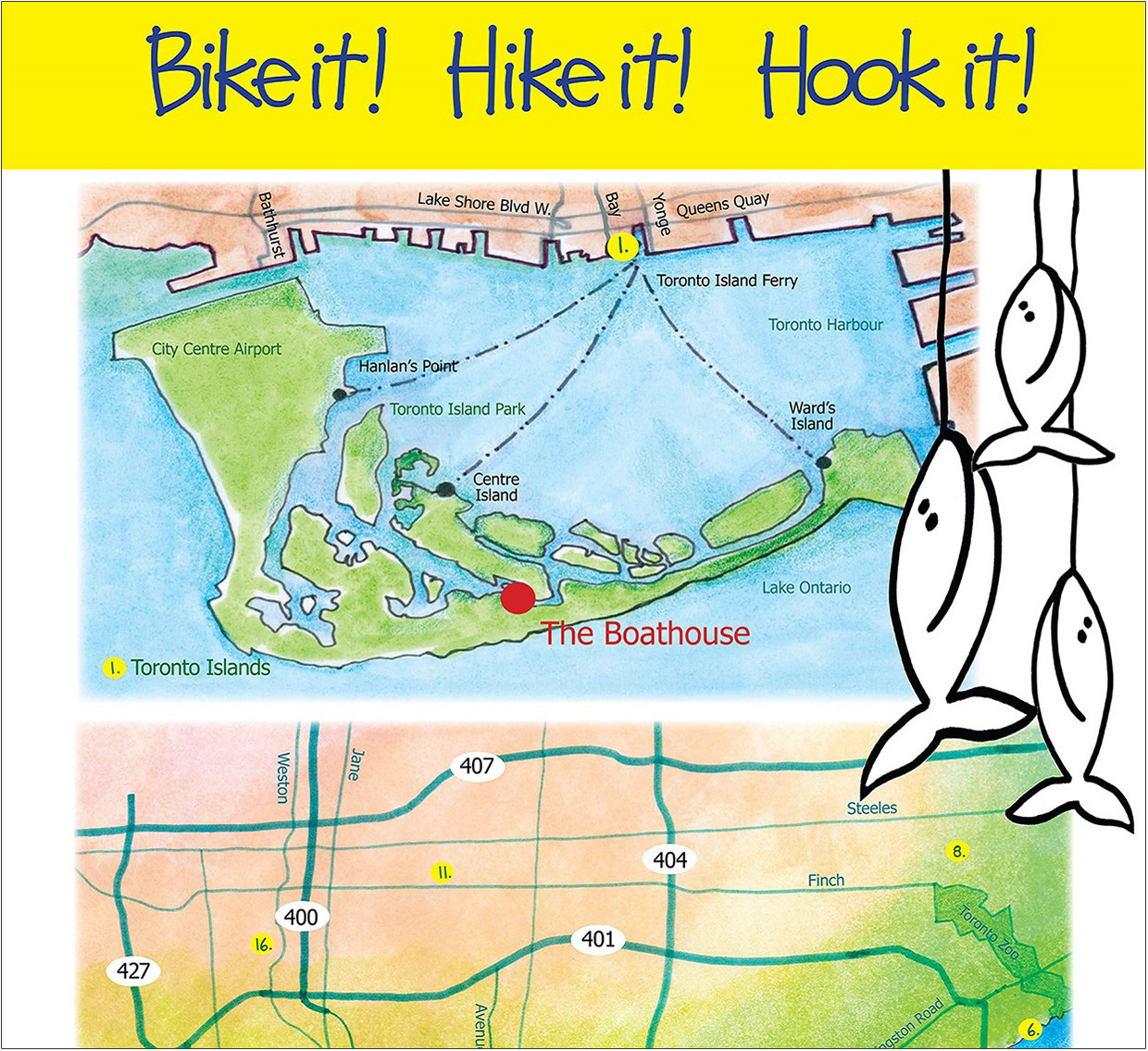 cover of Toronto Fishing brochure