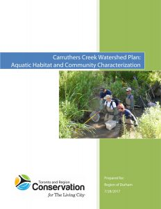 Carruthers Creek Watershed Plan, Aquatic Ecology