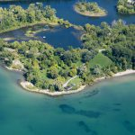 aerial view of Gibraltar Point