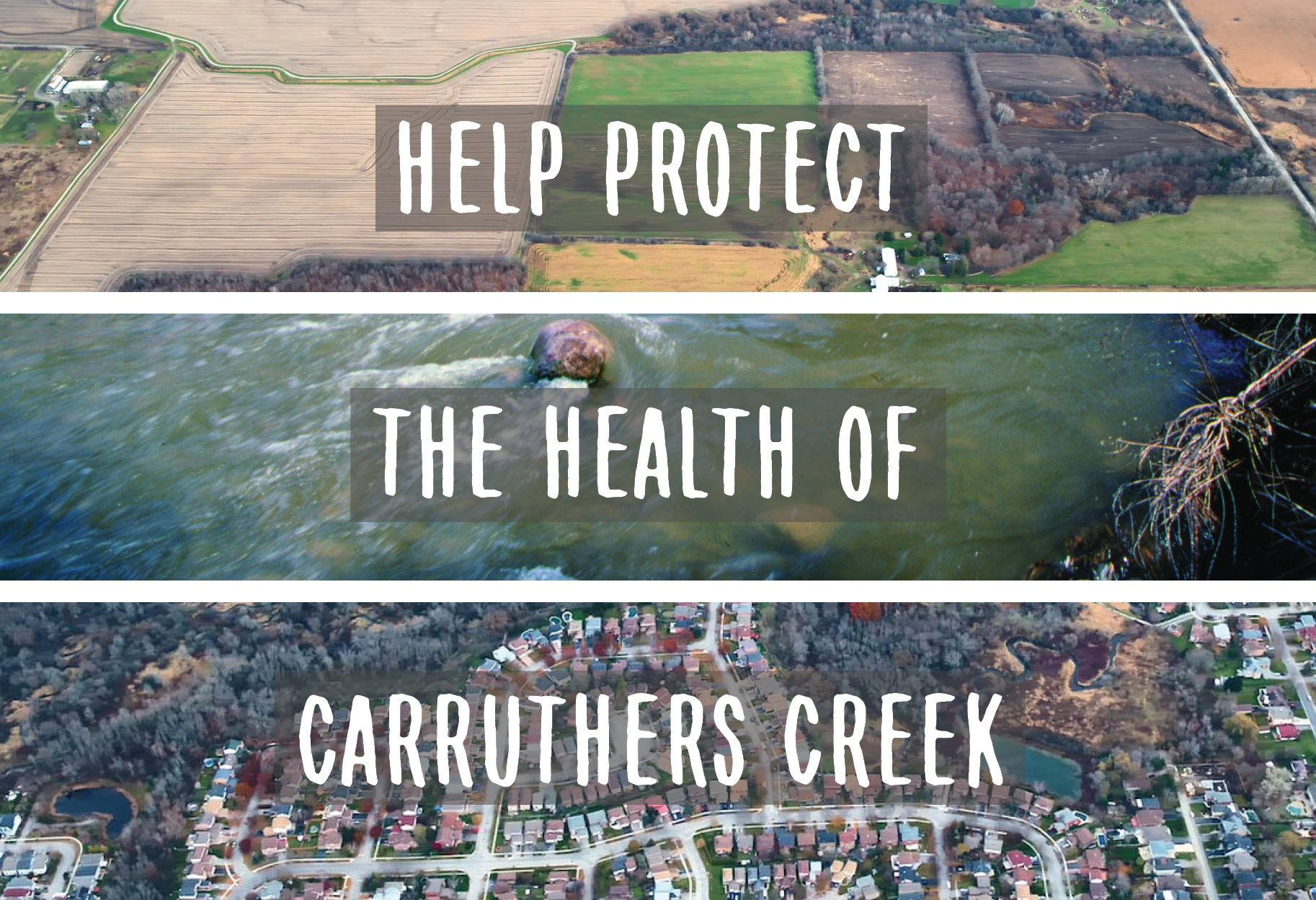 Help Protect the Health of Carruthers Creek