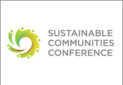 Sustainable Communities Conference logo