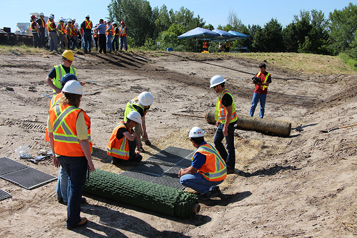 Erosion control field training