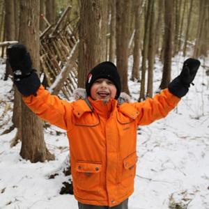 boy at March Break camp