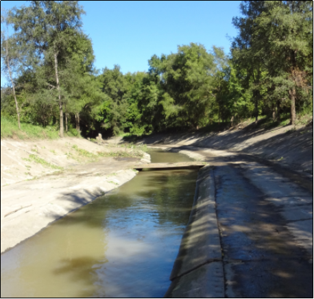 Flood control channels