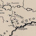 Charlevois Bellin map
