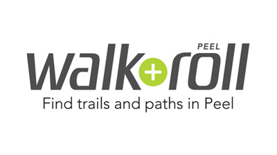 Walk + Roll Peel logo