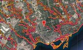 TRCA regulated area search tool