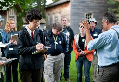 educators participate in TRCA professional development program at Black Creek Pioneer Village